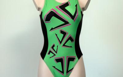 Waterpolo-badpak-groen-front